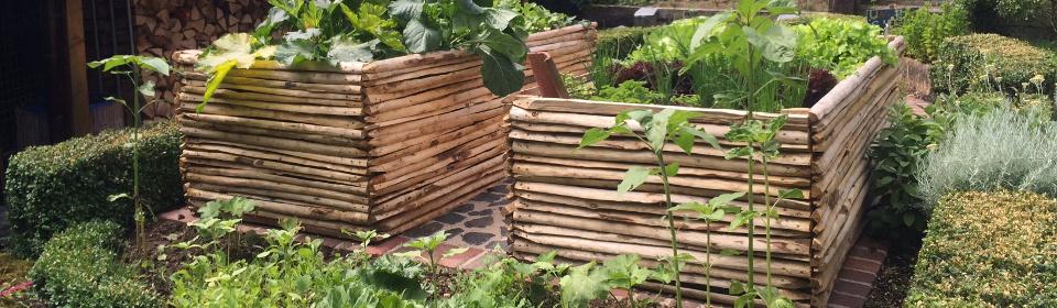 Hochbeete Naturholz